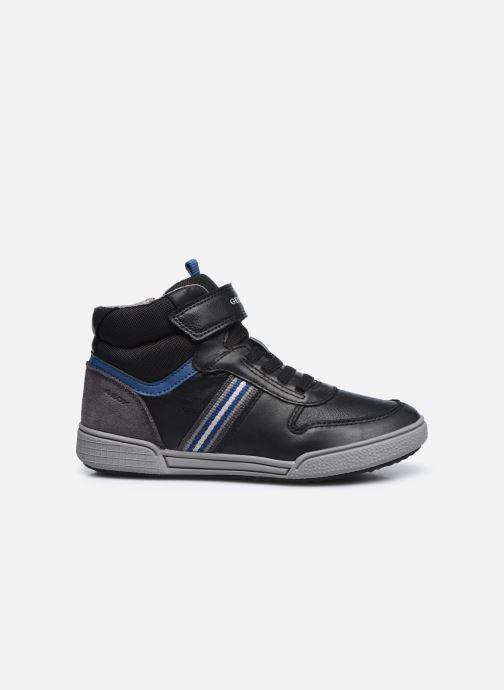 Sneakers Geox J Poseido Boy J04BCB Zwart achterkant