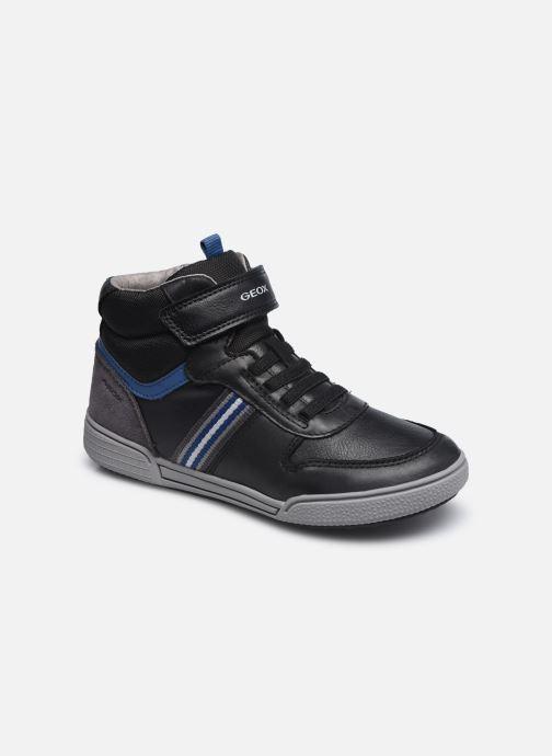 Sneakers Geox J Poseido Boy J04BCB Zwart detail