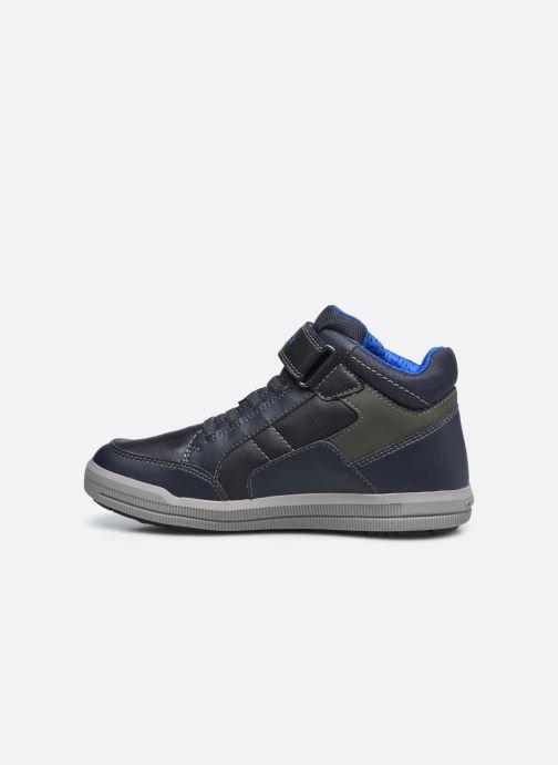 Sneakers Geox J Arzach Boy J044AA Blauw voorkant