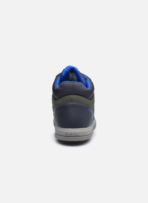 Sneakers Geox J Arzach Boy J044AA Blauw rechts