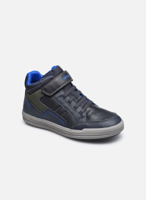 Baskets Geox J Arzach Boy J044AA Bleu vue détail/paire