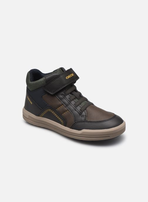 Sneaker Geox J Arzach Boy J044AA braun detaillierte ansicht/modell