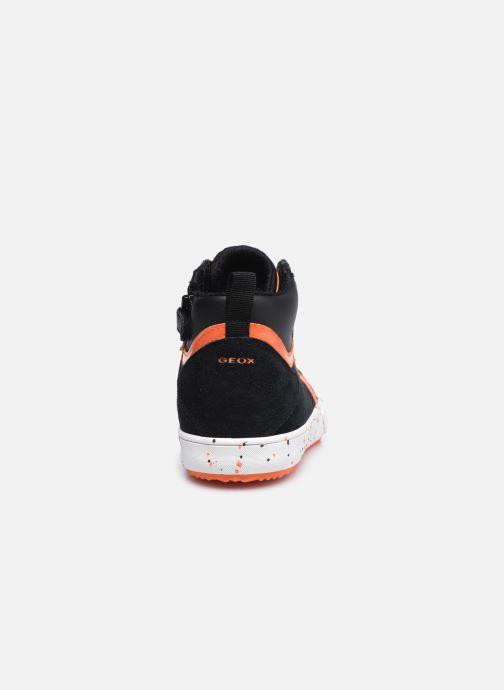 Sneaker Geox J Alonisso Boy J042CD schwarz ansicht von rechts