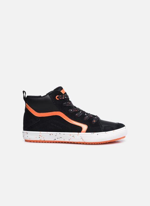 Sneaker Geox J Alonisso Boy J042CD schwarz ansicht von hinten