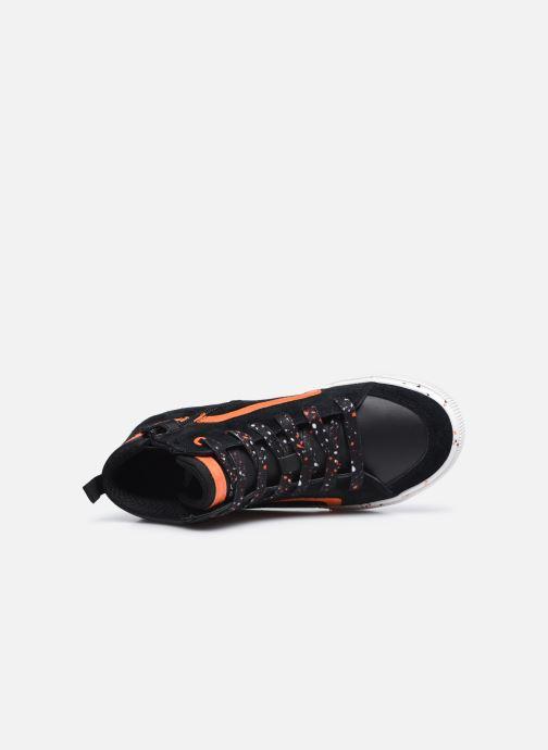 Sneaker Geox J Alonisso Boy J042CD schwarz ansicht von links