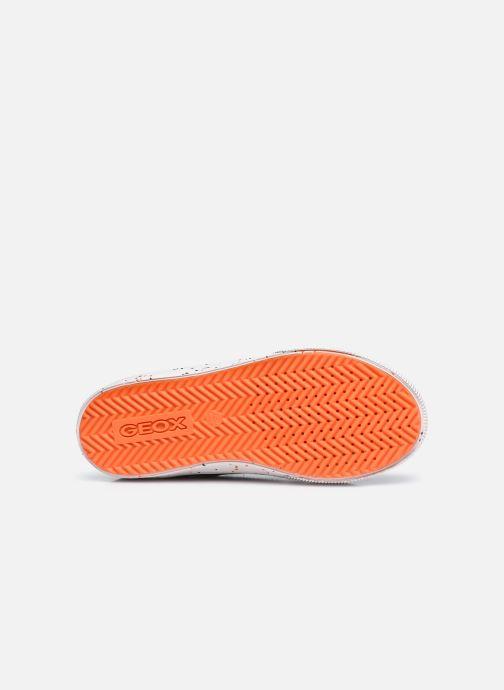 Sneaker Geox J Alonisso Boy J042CD schwarz ansicht von oben