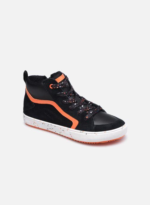 Sneaker Geox J Alonisso Boy J042CD schwarz detaillierte ansicht/modell