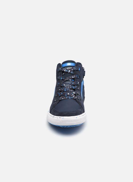 Sneaker Geox J Alonisso Boy J042CD blau schuhe getragen