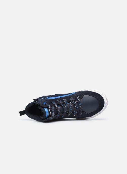 Sneaker Geox J Alonisso Boy J042CD blau ansicht von links