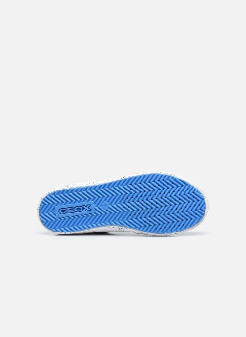 Sneaker Geox J Alonisso Boy J042CD blau ansicht von oben