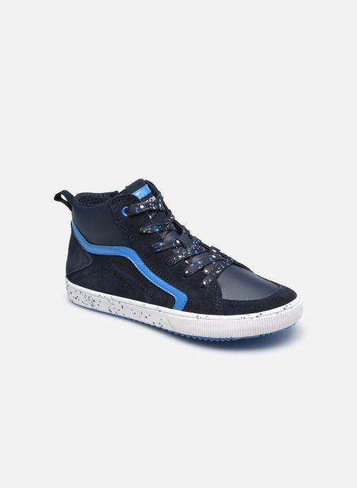 Sneaker Geox J Alonisso Boy J042CD blau detaillierte ansicht/modell