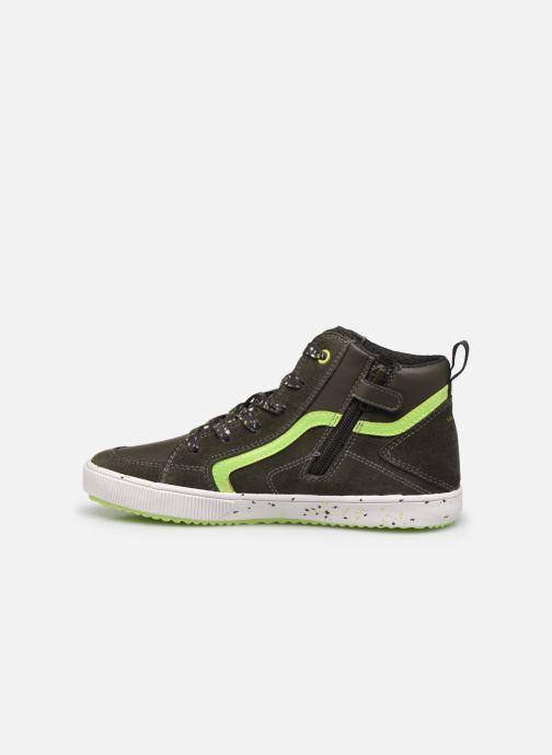 Sneaker Geox J Alonisso Boy J042CD grün ansicht von vorne