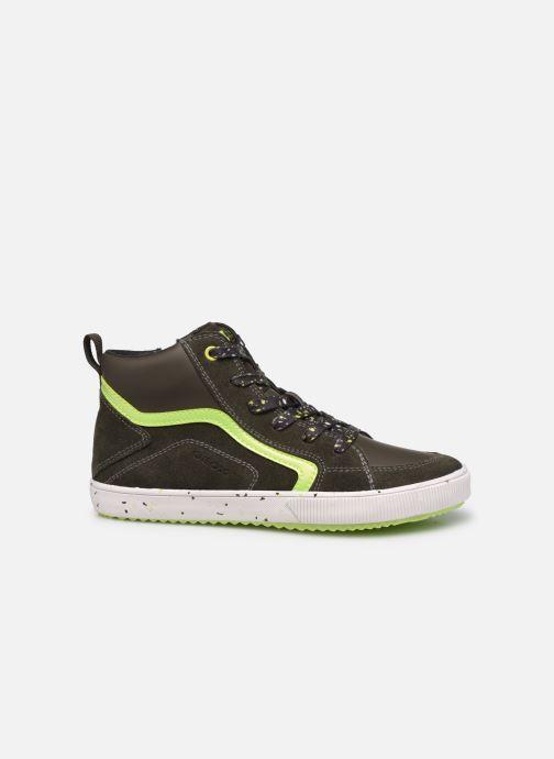 Sneaker Geox J Alonisso Boy J042CD grün ansicht von hinten