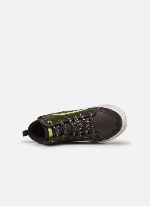 Sneaker Geox J Alonisso Boy J042CD grün ansicht von links