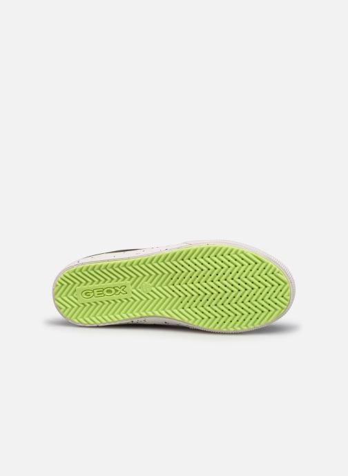 Sneaker Geox J Alonisso Boy J042CD grün ansicht von oben