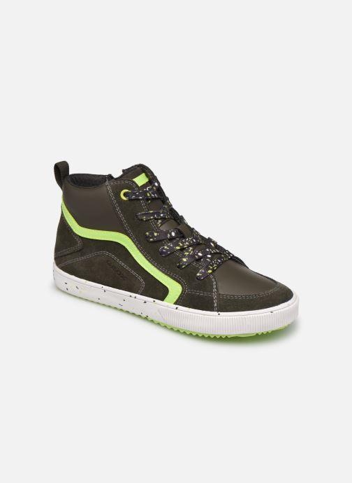 Sneaker Geox J Alonisso Boy J042CD grün detaillierte ansicht/modell