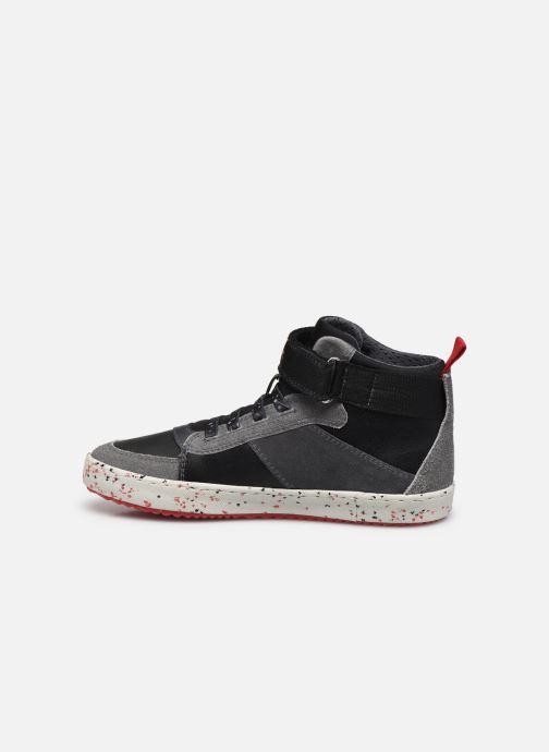 Sneaker Geox J Alonisso Boy J042CC schwarz ansicht von vorne