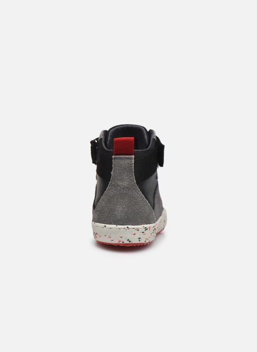 Sneaker Geox J Alonisso Boy J042CC schwarz ansicht von rechts
