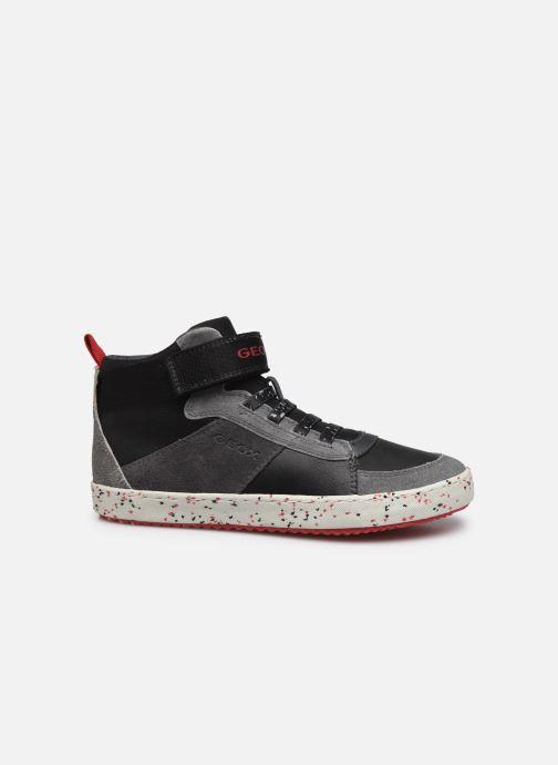 Sneaker Geox J Alonisso Boy J042CC schwarz ansicht von hinten