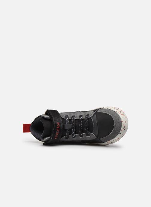 Sneaker Geox J Alonisso Boy J042CC schwarz ansicht von links