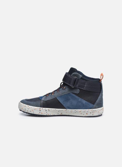 Sneaker Geox J Alonisso Boy J042CC blau ansicht von vorne