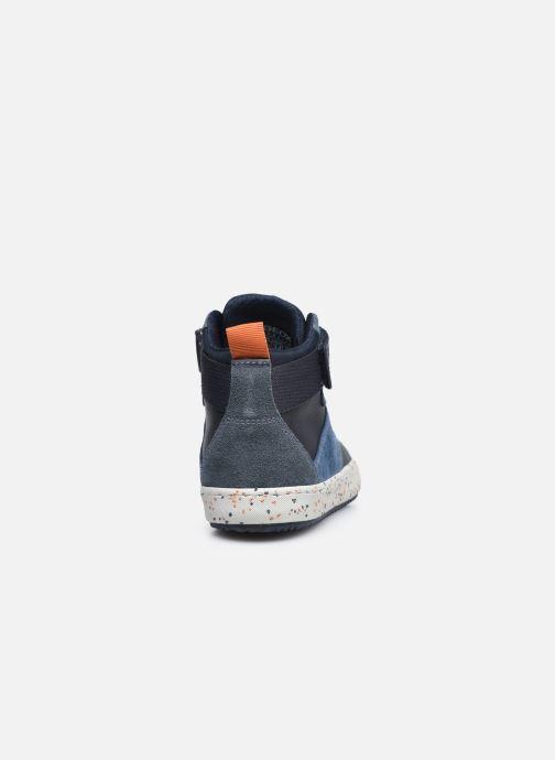 Sneaker Geox J Alonisso Boy J042CC blau ansicht von rechts