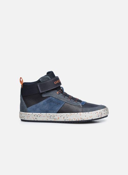 Sneaker Geox J Alonisso Boy J042CC blau ansicht von hinten