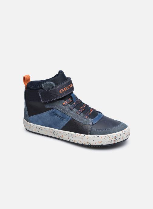 Sneakers Geox J Alonisso Boy J042CC Blauw detail