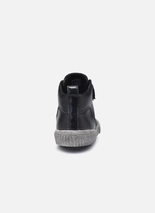 Sneaker Geox J Alonisso Boy J042CB schwarz ansicht von rechts