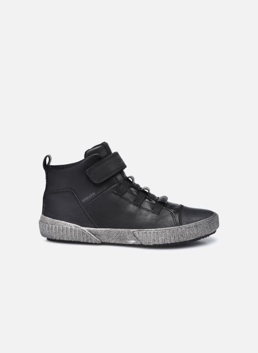 Sneaker Geox J Alonisso Boy J042CB schwarz ansicht von hinten