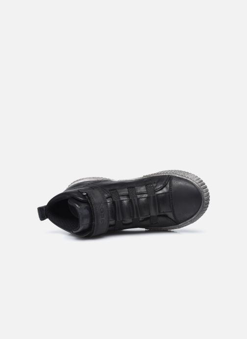 Sneaker Geox J Alonisso Boy J042CB schwarz ansicht von links