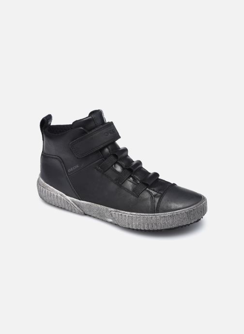 Sneaker Geox J Alonisso Boy J042CB schwarz detaillierte ansicht/modell