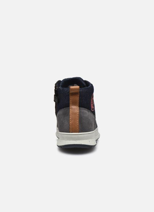 Sneaker Geox J Astuto Boy J04CXD x WWF schwarz ansicht von rechts