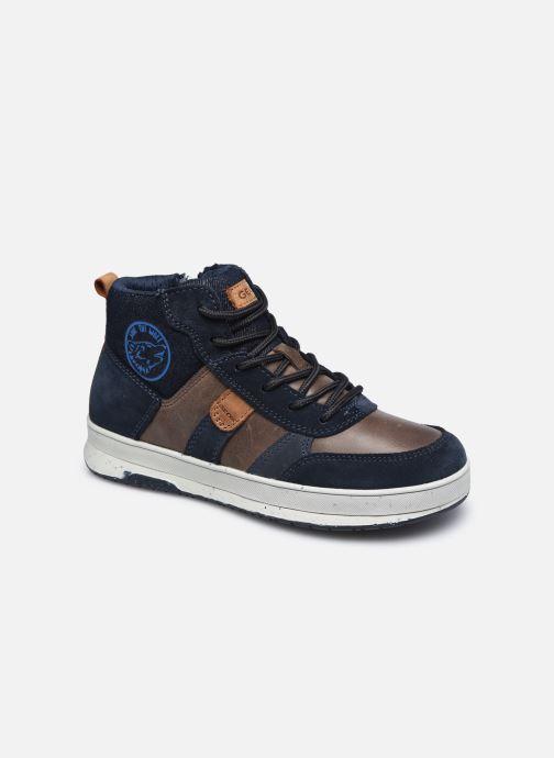 Sneaker Geox J Astuto Boy J04CXD x WWF blau detaillierte ansicht/modell