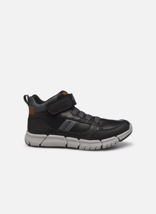 Boots en enkellaarsjes Geox J Flexyper Boy J049BB Zwart achterkant
