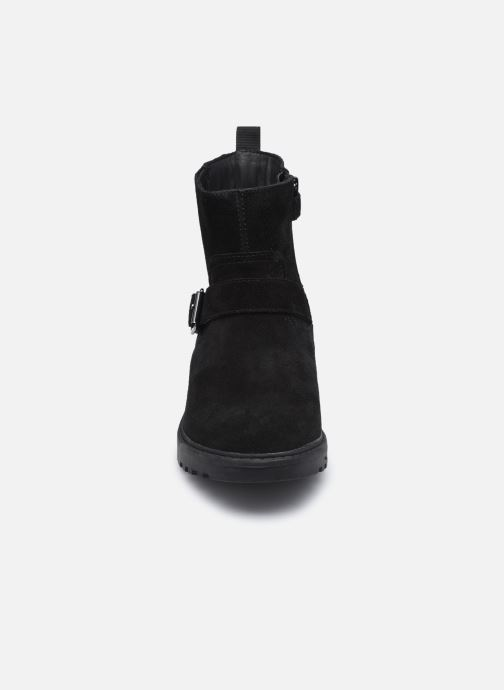 Stiefel Geox J Casey Girl J04AFB WPF schwarz schuhe getragen