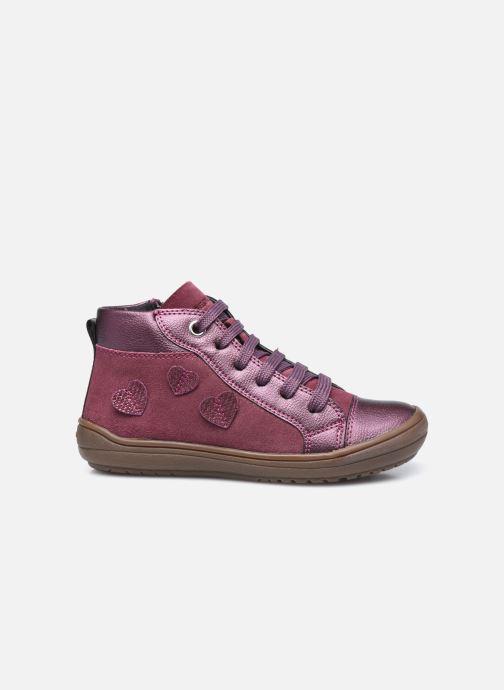Sneaker Geox J Hadriel Girl J047VB lila ansicht von hinten