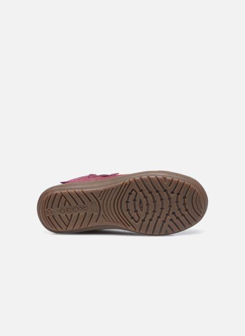 Sneakers Geox J Hadriel Girl J047VB Viola immagine dall'alto