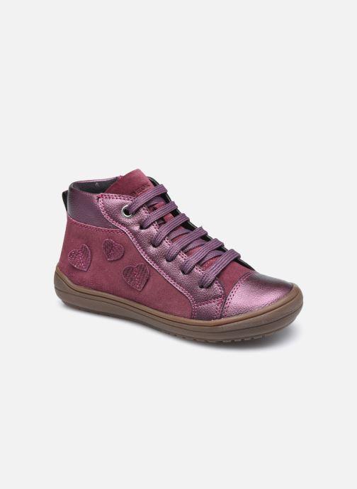 Baskets Geox J Hadriel Girl J047VB Violet vue détail/paire