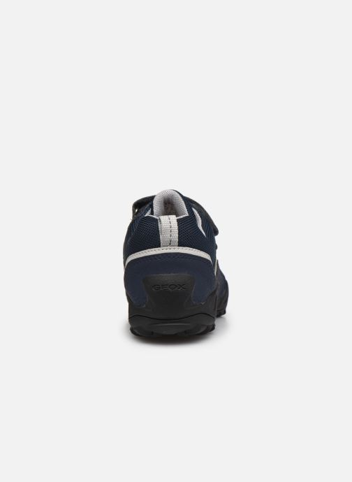 Sneaker Geox J New Savage Boy J041VA blau ansicht von rechts