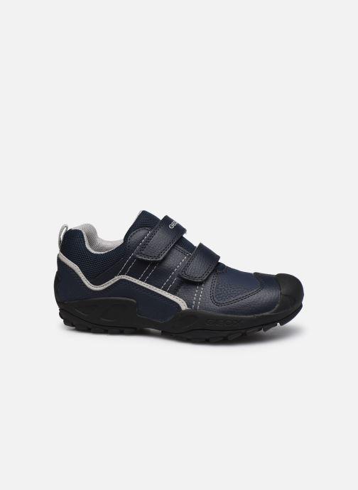Sneaker Geox J New Savage Boy J041VA blau ansicht von hinten