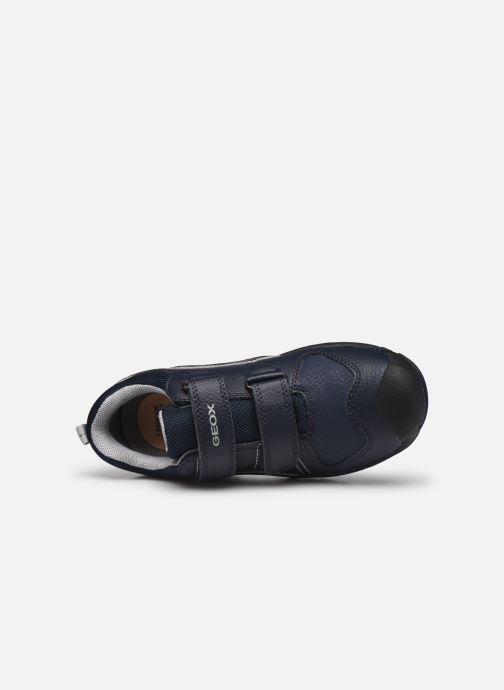 Sneaker Geox J New Savage Boy J041VA blau ansicht von links