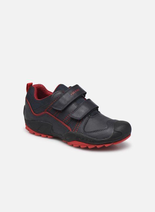 Sneaker Geox J New Savage Boy J041VA blau detaillierte ansicht/modell