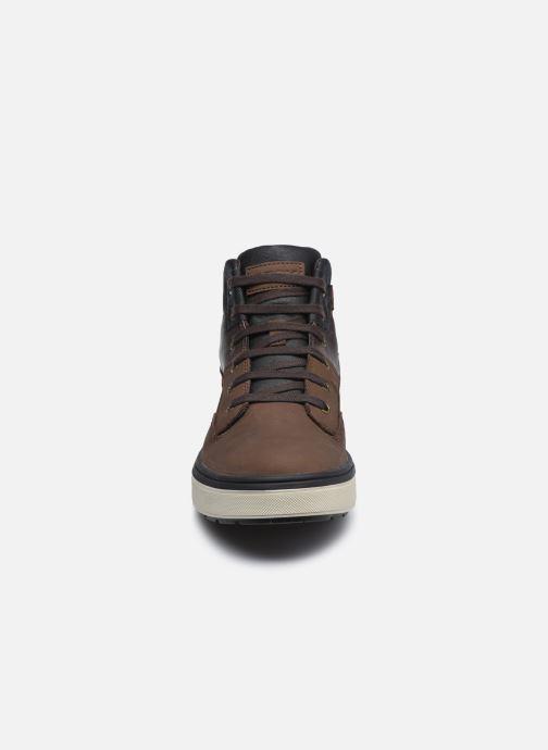 Stiefeletten & Boots Geox J Mattias B Boy Abx J040DA braun schuhe getragen
