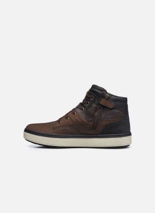 Stiefeletten & Boots Geox J Mattias B Boy Abx J040DA braun ansicht von vorne