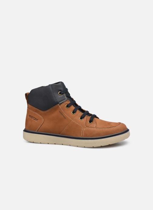 Bottines et boots Geox J Riddock Boy J047TA WPF Marron vue derrière