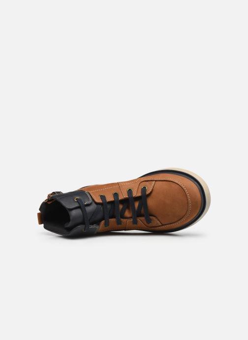 Bottines et boots Geox J Riddock Boy J047TA WPF Marron vue gauche