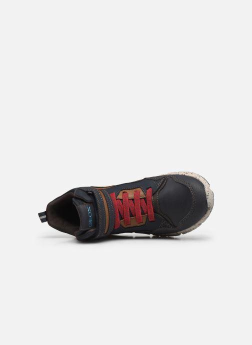 Stiefeletten & Boots Geox J Flexyper Boy B Abx J049XB blau ansicht von links