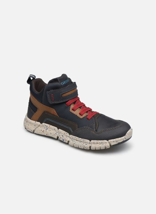 Stiefeletten & Boots Geox J Flexyper Boy B Abx J049XB blau detaillierte ansicht/modell