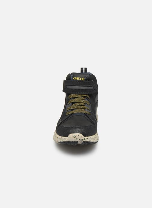 Stiefeletten & Boots Geox J Flexyper Boy B Abx J049XB schwarz schuhe getragen